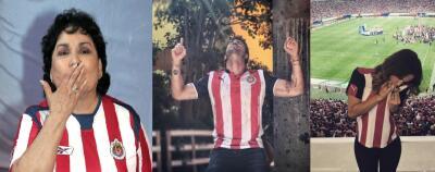 Los famosos celebran el campeonato del equipo de fútbol Chivas de Guadalajara