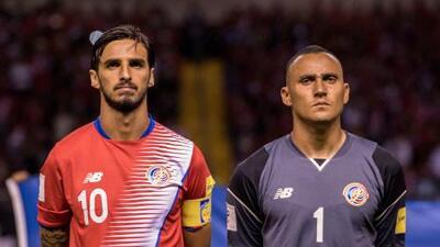 Keylor Navas y Bryan Ruiz lideran lista de Costa Rica para los juegos ante EEUU y México