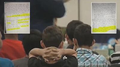 Más cartas, mismo dolor: niños migrantes no quieren que otros pasen por el infierno de los centros de detención