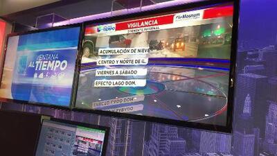 Vigilancia por tormenta invernal. Además tendremos una gran baja en la temperatura este fin de semana.
