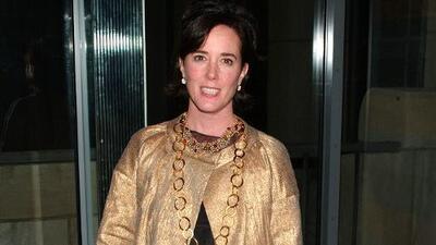Muere Kate Spade: policía confirma suicidio de la famosa diseñadora