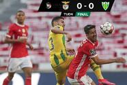 Benfica roba liderato al Porto a pesar de no ganar