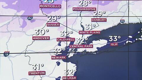 Ventana al Tiempo: las temperaturas continuarán bajando en Nueva York este miércoles