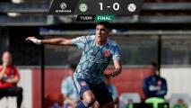 Edson Álvarez y Ajax caen ante el Groningen en la Eredivisie
