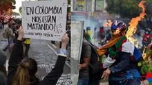 """""""Es una película de terror"""": Protestas en Colombia dejan al menos 19 muertos y los artistas piden al gobierno respetar los derechos humanos"""