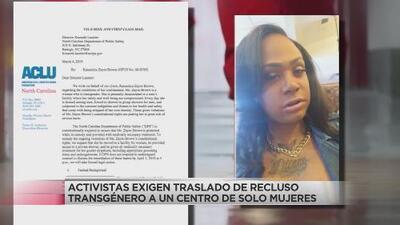 Transgénero pide que le cambien a prisión de mujeres