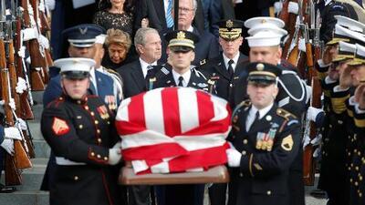 Los momentos más emotivos del funeral de estado del expresidente George H.W. Bush
