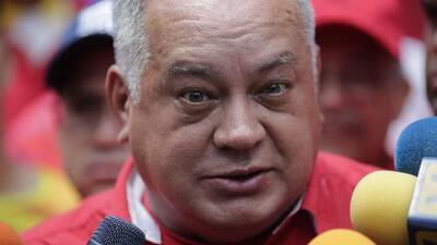 """Diosdado Cabello culpa a EEUU de lo que califica como un """"golpe militar"""" en Venezuela"""