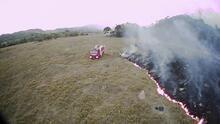 El humo de incendios en el Amazonas llega a ciudades como Sao Paulo