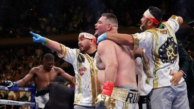 Comisión Nacional de Boxeo pide a Andy Ruiz Jr defender sus títulos en México