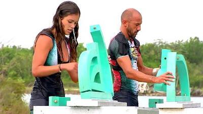 Mónica Gómez estuvo a un paso de ganar Reto 4 Elementos: este fue el momento en que alcanzó y rebasó a 'El Rasta'