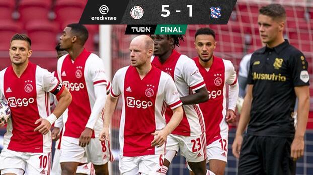 Sin Edson Álvarez, Ajax vence al Heerenveen
