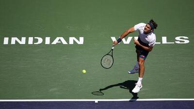 ¿Sexto título a la vista? Roger Federer avanza a semis en Indian Wells