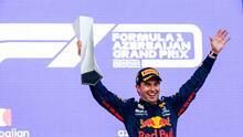 Checo Pérez consigue su segunda victoria en Fórmula 1
