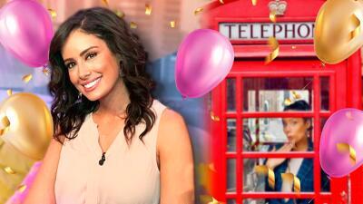 Enamorada, plena y feliz: Aleyda Ortiz festeja su cumpleaños 31 en Londres