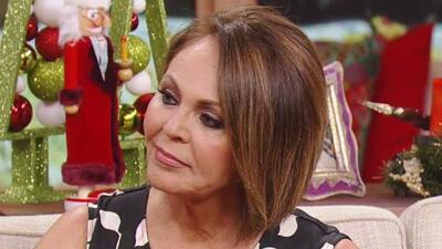 """""""Me está pegando la nostalgia"""": María Elena Salinas a punto del llanto por su salida de Univision"""