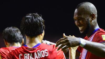 Jugadores de Vancouver Whitecaps rescatan empate para Costa Rica en Honduras