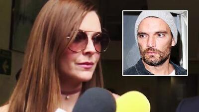 Marjorie de Sousa rinde declaración ante un juez por las denuncias que Julián Gil hizo en su contra