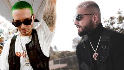 J Balvin vs. Maluma: la disputa entre ambos reggaetoneros que terminó en que uno se quiere parecer al otro