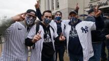 Arranca la temporada de las Grandes Ligas y los aficionados de los Yankees vuelven al estadio