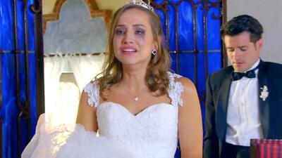 La muerte de su hermana marcó el día de su boda