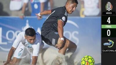 ¡Fiesta de golazos del Tri en Puerto Vallarta! México venció en su debut 4-0 a Guatemala