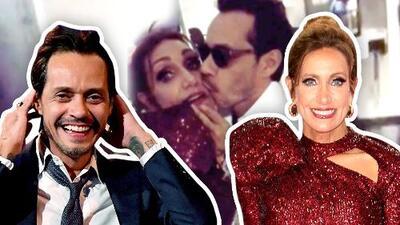 """""""Es es un amor de flaquencios"""": Marc Anthony comiéndose a besos a Lili Estefan"""