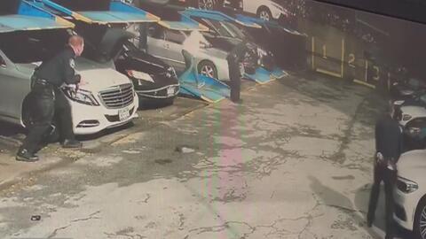 En video: Tiroteo en Washington Heights cobra la vida de un hombre y deja un policía herido