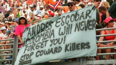 Capturan a narco implicado en la muerte del futbolista colombiano Andrés Escobar, asesinado hace 24 años