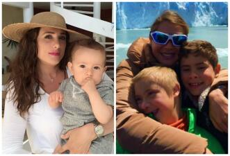 Son actrices de telenovela y mamás amorosas