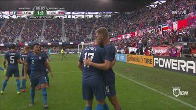 ¡Regreso goleador! Cabezazo de Sebastian Lletget y Team USA vence 1-0 a Costa Rica