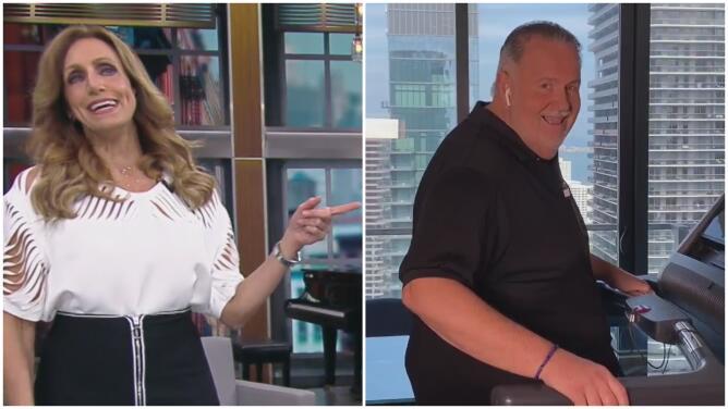 """""""Es un gordo moderno"""", el comentario de Lili al ver a Raúl con su caminadora a lado de la cocina"""