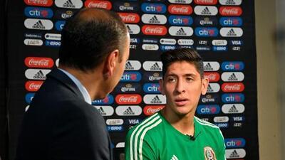 "EXCLUSIVA   Edson Álvarez: ""¿Favorito vs. Costa Rica? México debe ganar la Copa Oro"""
