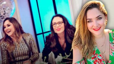 """Sherlyn dice por qué no conquista a Yolanda Andrade y suelta que tiene un """"admirador no tan secreto"""""""