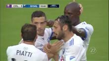 Piatti sirvió el pase gol a Blerim Dzemaili para el empate de Montreal Impact