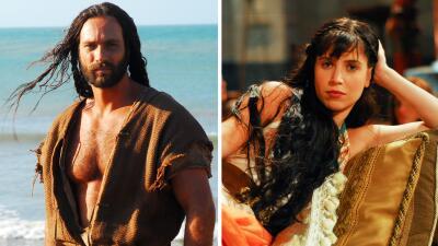 Ellos son 'Sansón y Dalila', los dos personajes de la nueva serie de UniMás