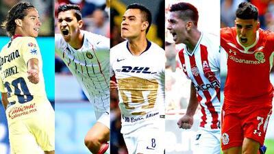 ¿Y los extranjeros? Los futbolistas mexicanos fueron los protagonistas con sus goles en la J3