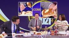 ¿A quién le tocaron los tamales? Raúl González partió la rosca de Reyes por Karla y esto fue lo que sucedió