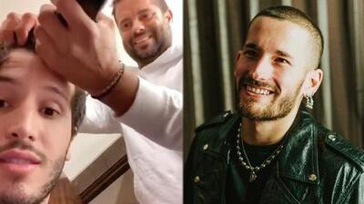 Sebastian Yatra sorprende con nuevo look muy al estilo de Ricky Montaner