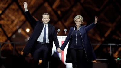 Macron arrasa: Francia frena el mensaje nacionalista y antiinmigrante al estilo Trump