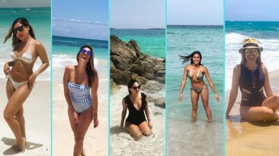 Nuestras conductoras marcan tendencia en moda de playa: inspírate en sus estilos este verano