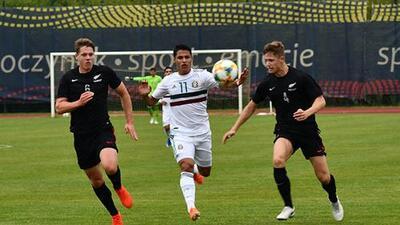 El Tri Sub-20 cerró preparación para el Mundial con derrota ante Nueva Zelanda