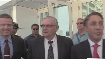 Joe Arpaio declarado culpable por desacato criminal