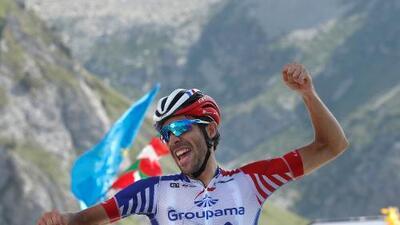 Thibaut Pinot se llevó la 14a etapa del Tour de Francia.