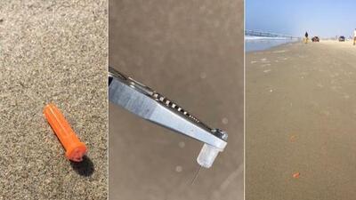 """Alerta: desechos médicos encontrados en playa de Venice Beach """"pueden contener infecciones"""""""