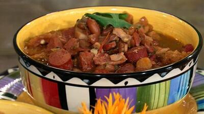 La receta del día: Frijoles Charros, en la Cocina de Karla