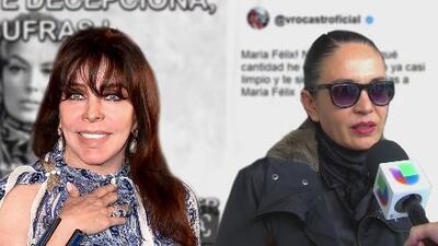 """Tras la polémica con Yolanda Andrade, Verónica Castro llama """"basura"""" a quien """"decepciona"""""""