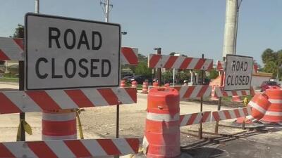 Hasta el lunes estas vías se verán afectadas por los arreglos al sistema de alcantarillado en Kendall
