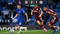 Leicester City compromete su pase a la Champions