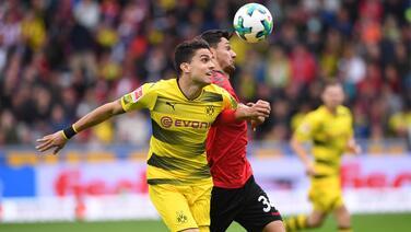 Dortmund no pasa de un empate a cero en Friburgo